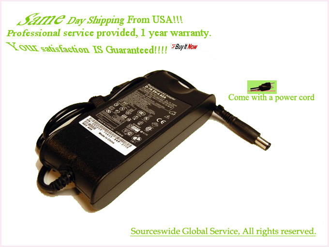 AC Adapter For Dell 0N6M8J DA65NM111-00 Laptop Charger Power Sup