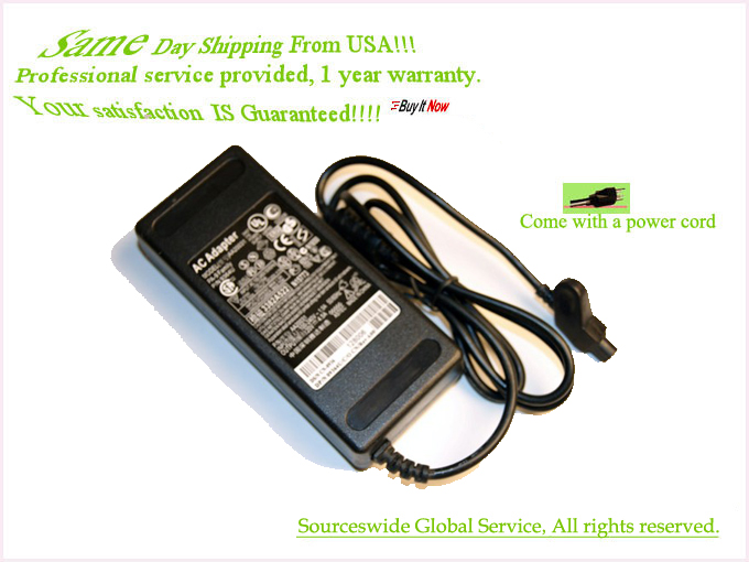 AC ADAPTER Power Supply CORD Charger For Dell INSPIRON PP01L PP0